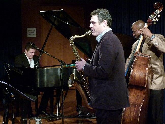 Иван Фармаковский и Ралф Боуэн на концерте в Принстонском университете, 2012
