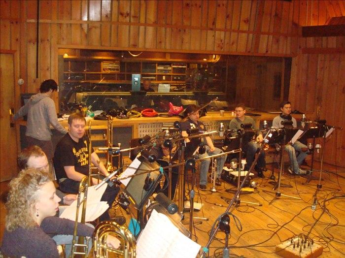 Московский джаз-оркестр в студии Avatar