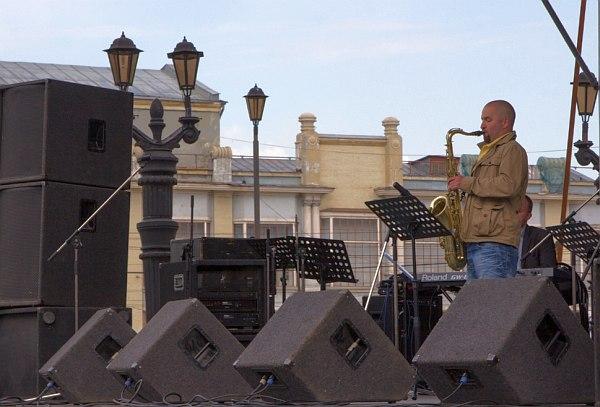 Андрей Плетнёв, квинтет Сергея Чашкина