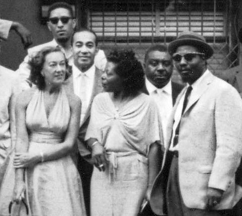 Фрагмент знаменитого кадра A Great Day in Harlem