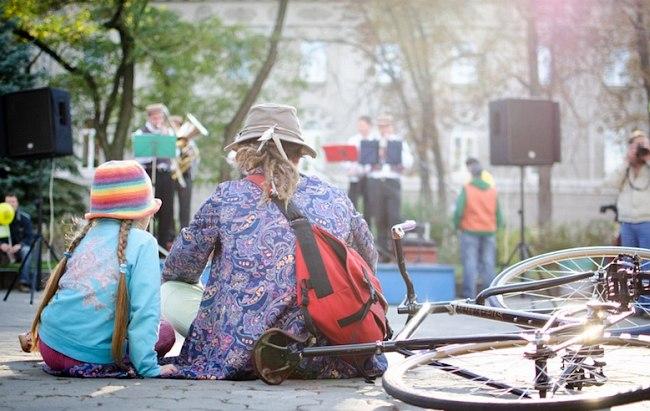 Зелёная сцена фестиваля в Чернигове (фото: Алексей Письменный)