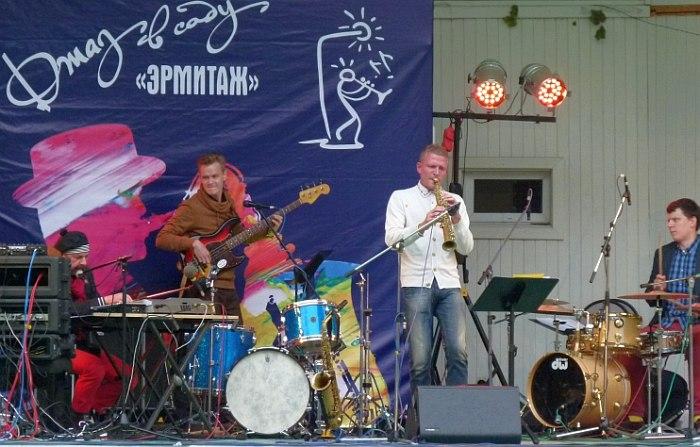 Джаз Бас Театр: Алекс Ростоцкий, Герман Мамаев, Андрей Красильников, Игнат Кравцов