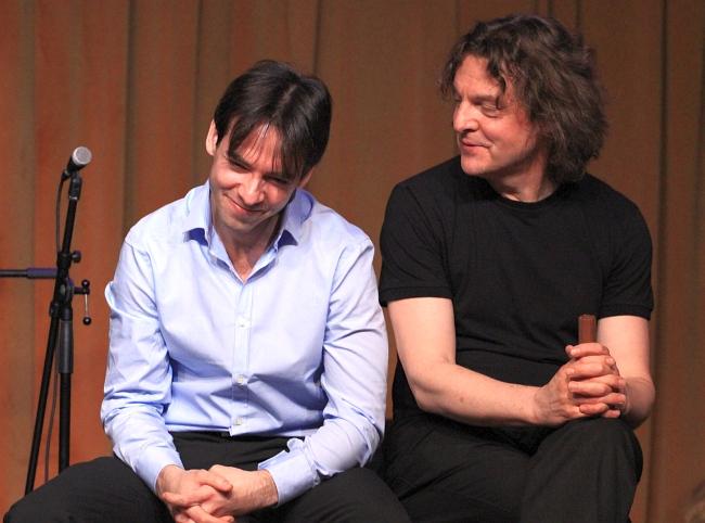 Вадим Неселовский и Аркадий Шилклопер (фото: Анна Филипьева, 2012)