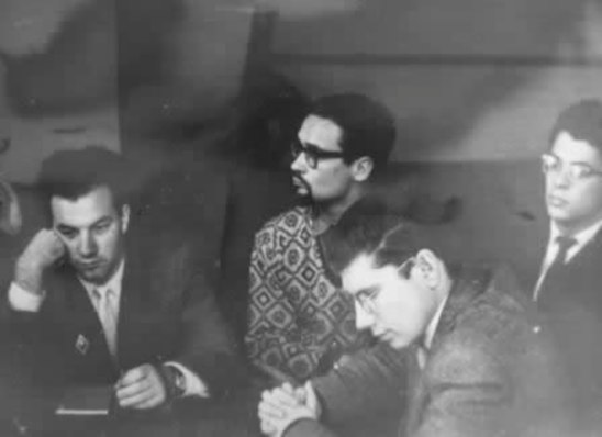 Владимир Фейертаг, Сергей Лавровский, Вадим Юрченков, Аркадий Мемхес, 1958