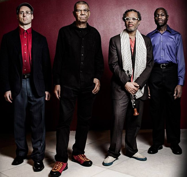 George Colligan (p), Jack DeJohnette (dr), Don Byron (cl), Jerome Harris (b) Photo © Carlos Pericás