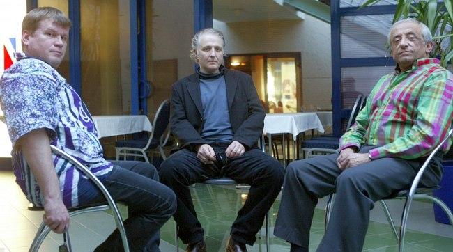 Ganelin Trio Priority: Petras Vyšniauskas, Klaus Kugel, Slava Ganelin