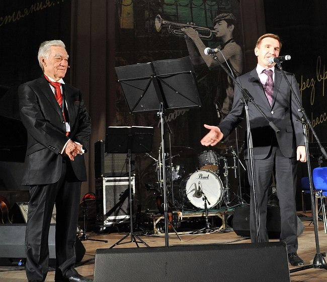 Организаторы фестиваля - Рафаиль Туишев и Игорь Гуськов