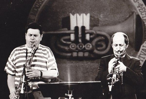 Александр Пищиков, Игорь Широков (I Московский международный джаз-фестиваль, 1990)