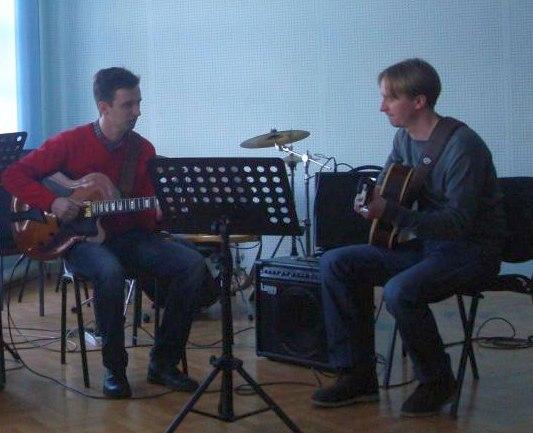 В память о Николае Головне играют Максим Шибин и Александр Горох