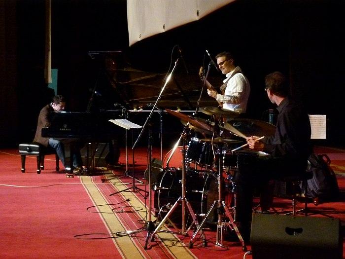 Eldar Djangirov Trio: Eldar, Mike Pope, Todd Strait