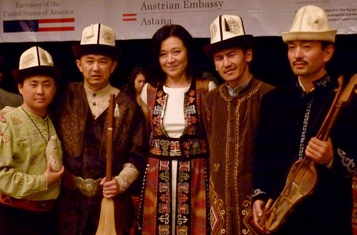 Кыргызские участники