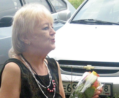 Нонна Суханова, 2012 (фото из коллекции Владимира Гринберга, С.-Петербург)