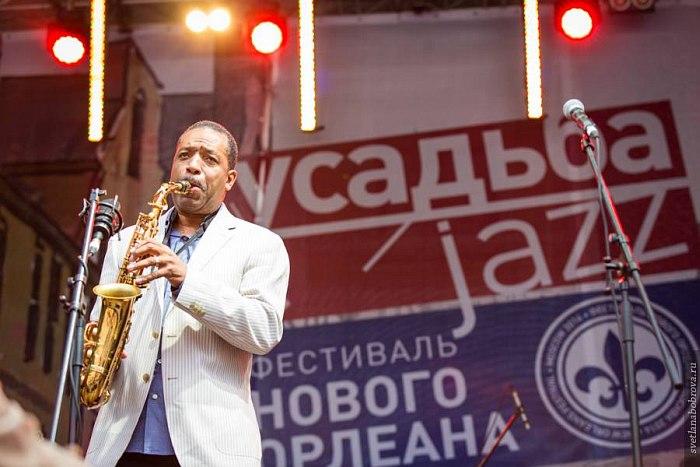 Дональд Харриисон на фестивале «Усадьба Jazz» в Архангельском (фото © Светлана Боброва)