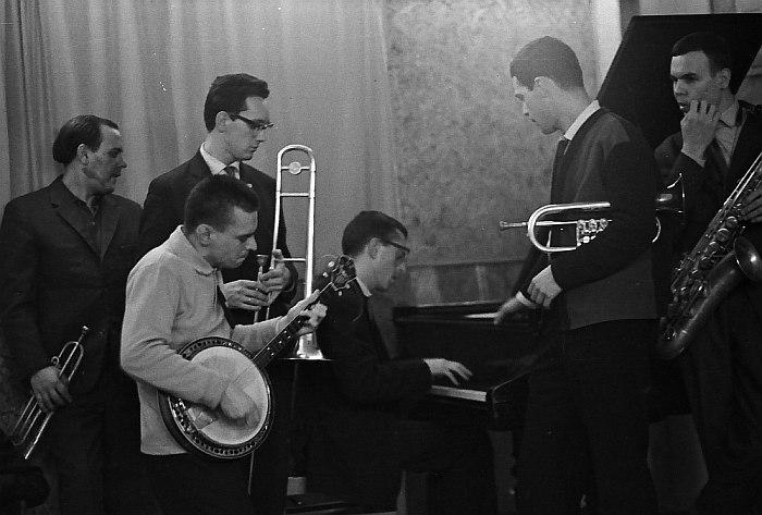 Джем-сешн в кафе «Синяя птица».1965