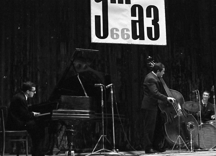 На фестивале «Джаз-66». 1966