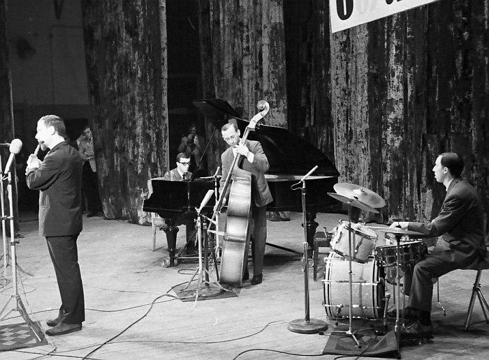 На фестивале «Джаз-67». 1967