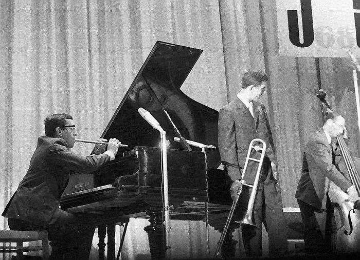 На фестивале «Джаз-68». 1968