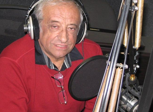 Вячеслав Ганелин в студии Радио России