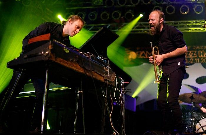 Andreas Ulvo & Mathias Eick - photo © Maarit Kytöharju (for Tampere Jazz Happening)