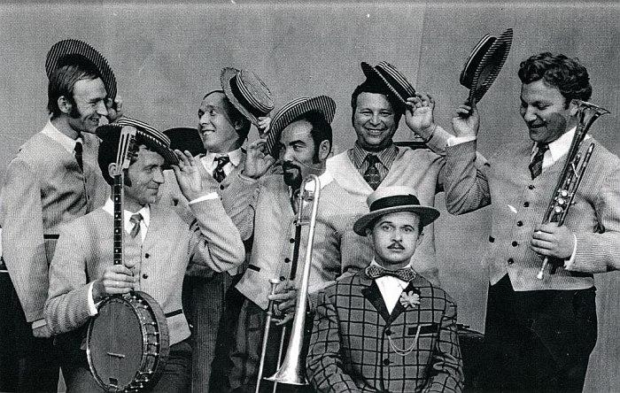 Уральский Диксиленд, 1970-е (фото из архива юбиляра)