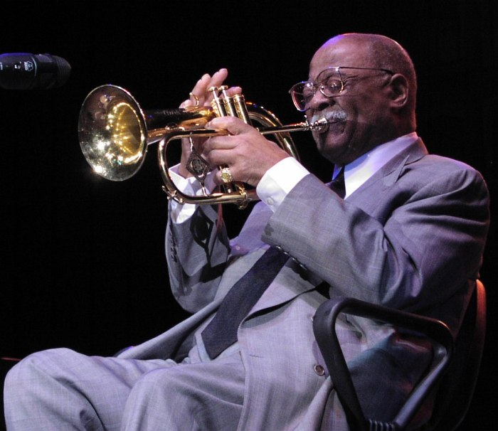 Clark Terry (photo © Cyril Moshkow)