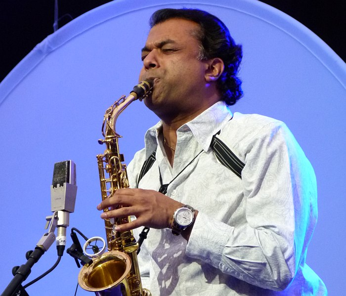 Rudresh Mahanthappa (photo © Cyril Moshkow, 2012)