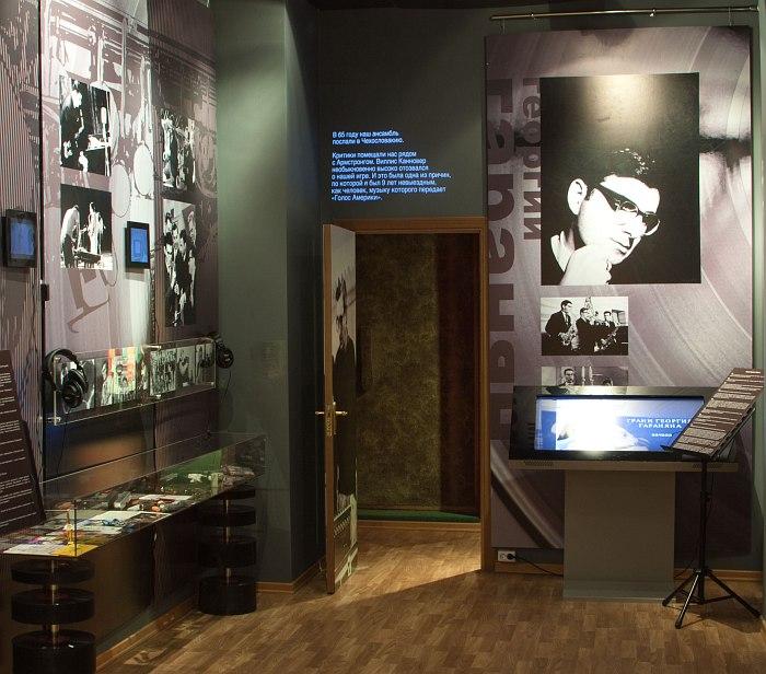 Экспозиция выставки в Музее и. Глинки