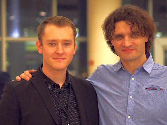Евгений Лебедев, Антон Ревнюк (фото: архив «Джаз.Ру»)