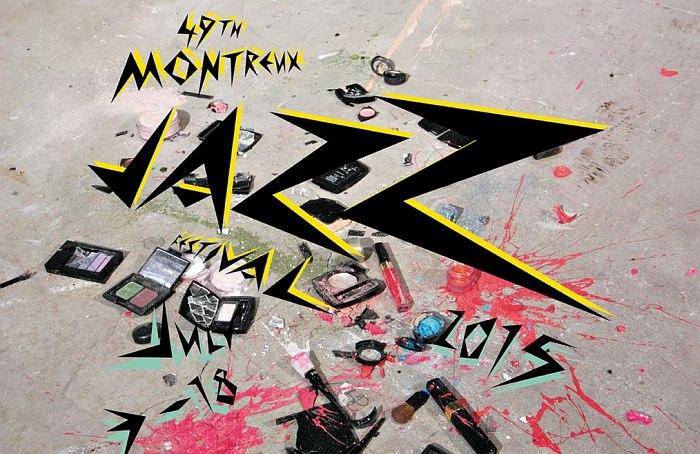 Постер 49-го Montreux Jazz Festival © Sylvie Fleury