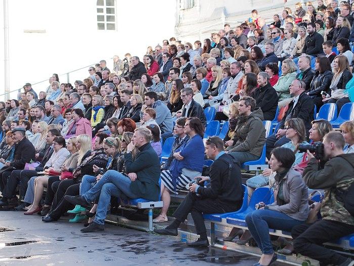 «Блюз на веранде»: публика