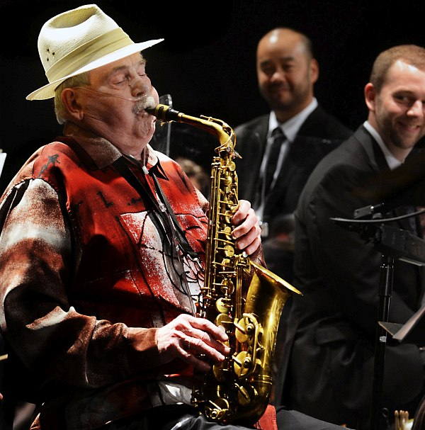 Phil Woods (photo © Nate Guidry,  Post-Gazette)
