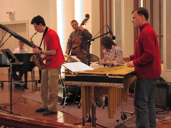 Стажёры программы «Открытый мир» на Lionel Hampton Jazz Festival, 2005