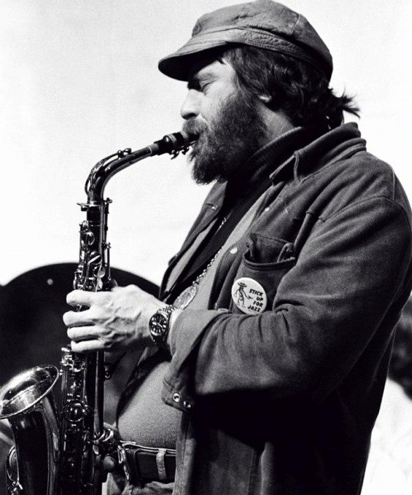 Фил Вудс в 1970-е гг.