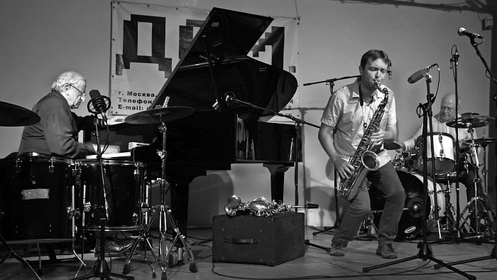 Вячеслав Ганелин, Алексей Круглов, Олег Юданов (фото © Александр Забрин)