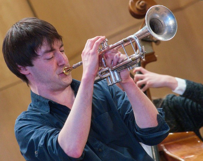 Дмитрий Зинаков на конкурсе «Гнесин-джаз» в декабре 2015