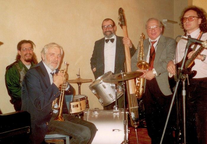Егуда Могилевский, Борис Вулах, Гдалий Левин, Владимир Анчиполовский, Владимир Фролов. Тель-Авив, 1993