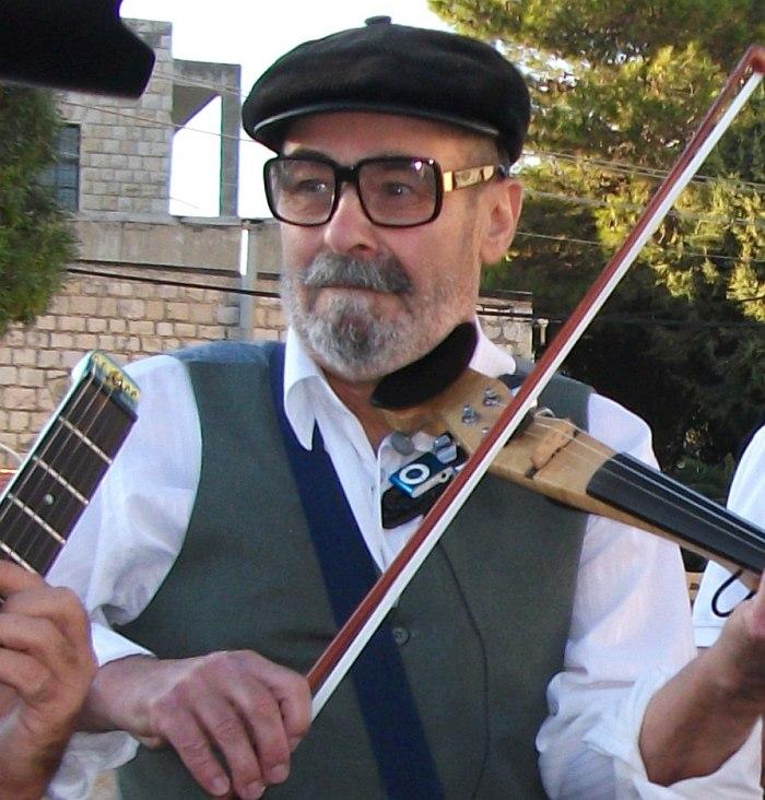 На празднике клезмерской музыки. Цфат, 2008