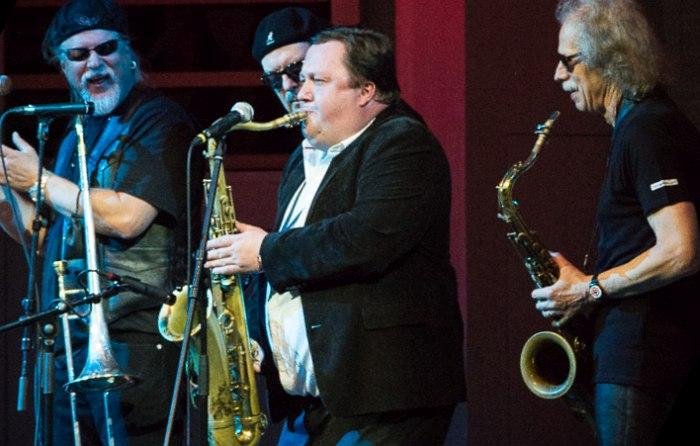 Александр Гуреев с Original Blues Brothers Band, 2014