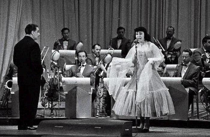 Оркестр Олега Лундстрема в Таллине, 1959 (фото © Valdur-Peeter Vahi)