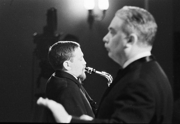 Роман Кунсман и Олег Лундстрем, 1967