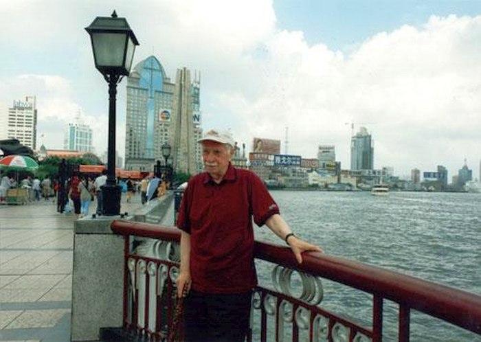 2001: Олег Лундстрем на набережной Шанхая. Съёмки документального фильма