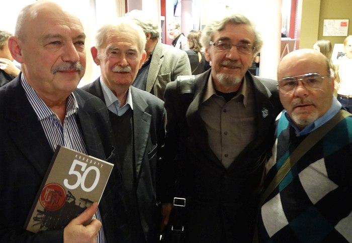 На праздновании 50-летия джаз-клуба «Квадрат», декабрь 2014