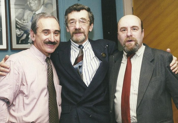 Геннадий Гольштейн, Сергей Мелещенко, Роман Копп, 2000