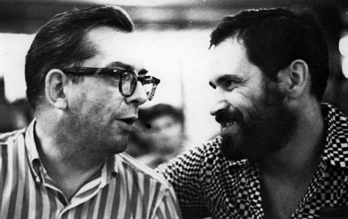 15 июля 1969, джаз-кафе «Печора». Уиллис Коновер, Алексей Баташёв