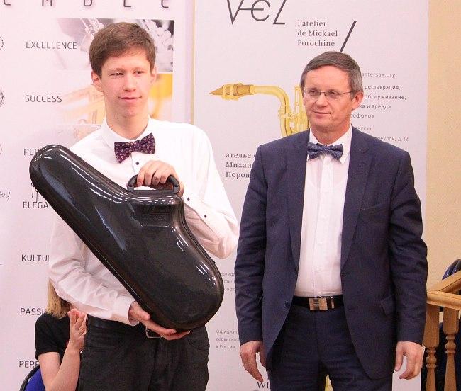 Андрей Баталеев и А.Н. Краси