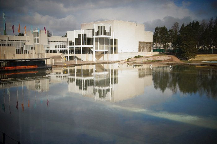 Эспоо, культурный центр Tapiola