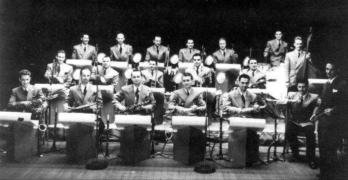 Оркестр Олега Лундстрема в Шанхае, 1947