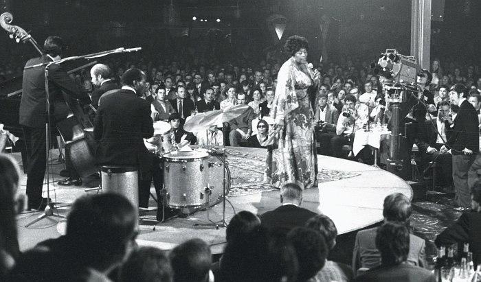 Элла Фицджералд на Montreux Jazz Festival, 1969