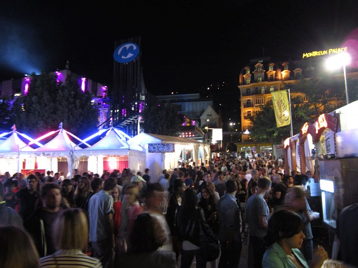 Монтрё в дни фестиваля
