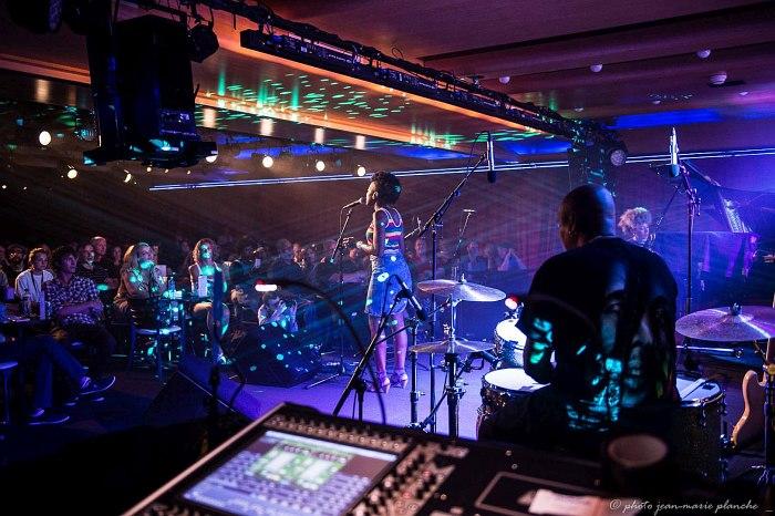 Сцена Montreux Jazz Club